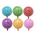 Mytex 17 Inch Lollipop Foil Balloon ~ 5pcs