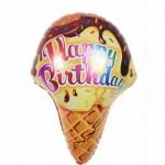 Mytex 25 Inch Birthday Ice Cream Cone ~ 2pcs
