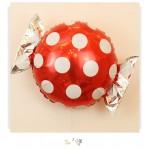 Decorator & Themed - Mytex 22 Inch Polka Dots Candy Foil Balloons ~ 5pcs
