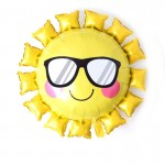 Mytex 31 Inch Smiling Sun With Sunglasses ~ 2pcs