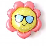 Mytex 31 Inch Sunflower With Sunglasses ~ 2pcs