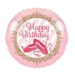 CTI 17 Inch Ballerina Birthday Balloon