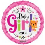 Conver USA 18 Inch Baby Girl Bear Balloon