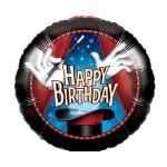 CTI 17 Inch Birthday Magic Party Foil Balloon