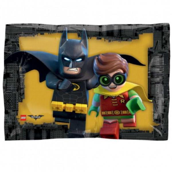 Character Balloons - Anagram 17 Inch Lego Batman Junior Shape Foil Balloon