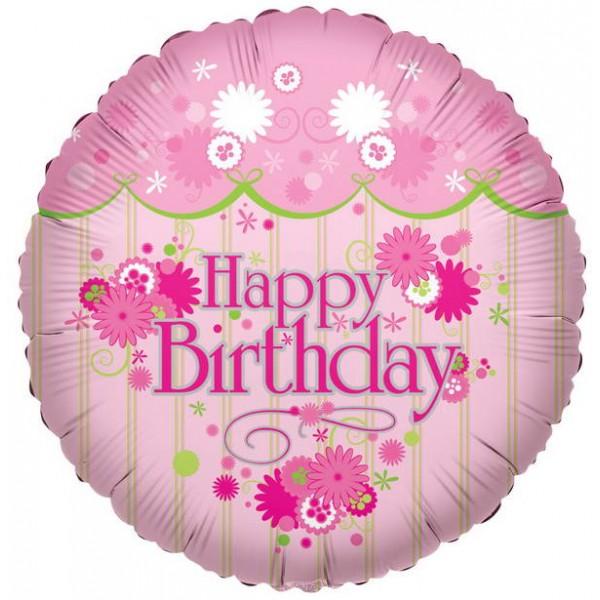 Birthday Balloons - Conver USA 18 Inch Happy Birthday Border