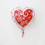 Mytex 17 Inch I Love You Heart Shape ~ 2pcs