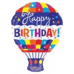 Conver USA 18 Inch Birthday Hot Air Balloon