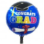 Mytex 17 Inch Congrats Grad With Certificate ~ 2pcs