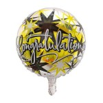 Mytex 17 Inch Congratulations Multi Elegant Stars ~ 2pcs