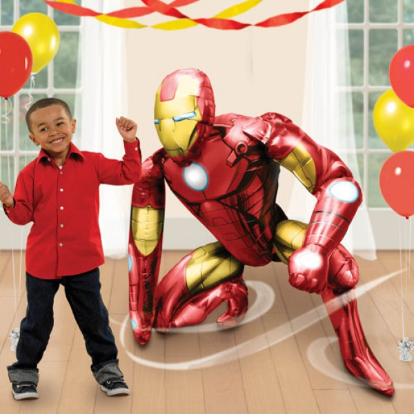 Airwalker Balloon - Anagram 46 Inch Iron Man Airwalker Foil Balloon