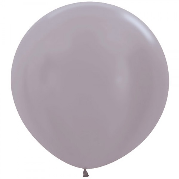36 Inch 3FT Round Balloons - Sempertex Giant 3ft Satin Greige Round Balloon 479