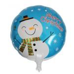 Mytex 17 Inch Winter Snowman Christmas Balloon ~ 2pcs