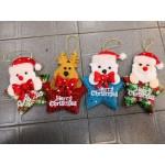 12cm Christmas Decoration Piece ~ 4 Designs