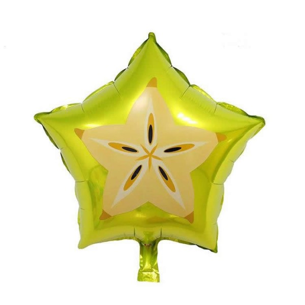 Fruits - 17 Inch Star Fruit Shape Balloon