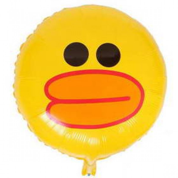 Character Balloons - 17 Inch Line Sally The Duck Face