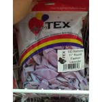 Mytex 11 inch Fashion Round Balloons ~ 25pcs
