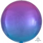 Anagram Omber Orbz Red And Blue Balloon
