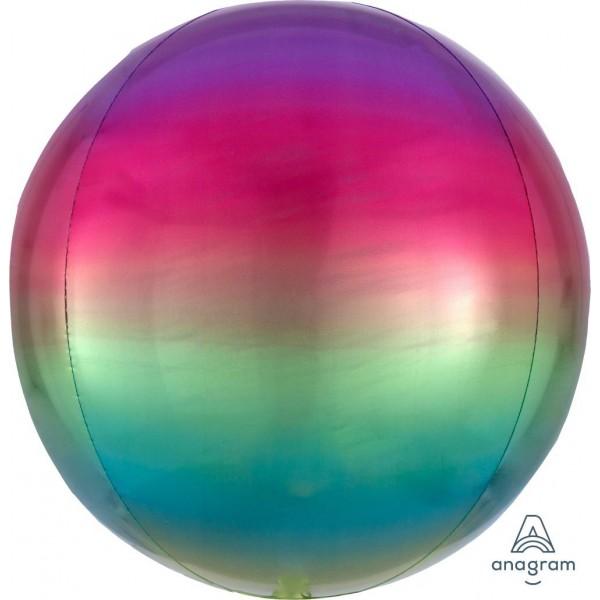 ORBZ Foil - Anagram Omber Orbz Rainbow Balloon