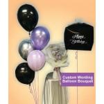 Custom Wording Balloon Bouquet ~ 5 Designs