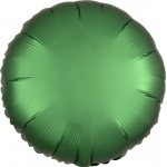 Mytex 17 Inch Emerald Green Round Balloon ~ 5pcs