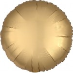 Mytex 17 Inch Matte Gold Round Balloon ~ 5pcs