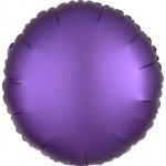 Mytex 17 Inch Matte Purple Round Balloon ~ 5pcs
