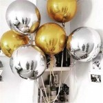 Mytex 32 Inch Orbz Chrome 4D Balloon