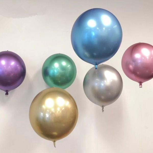 ORBZ Foil - Mytex 16 Inch Orbz Chrome 4D Balloon