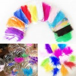 Feather Confetti Decoration For Transparent Balloons