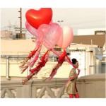 32 Inch Heart Shape Latex Balloon