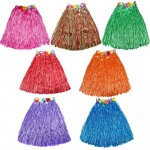 Mytex Assorted Colors Hawaiian Grass Skirt