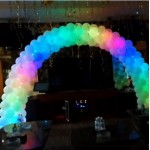 Balloon Disco Lighting Arch 10ft x 8ft