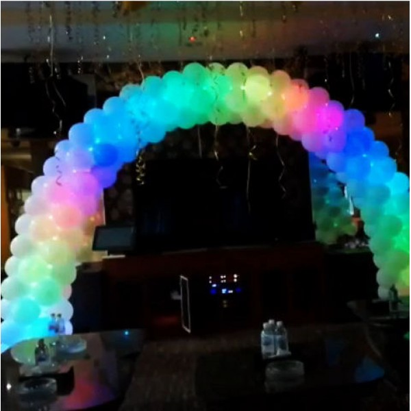 Others - Balloon Disco Lighting Arch 10ft x 8ft