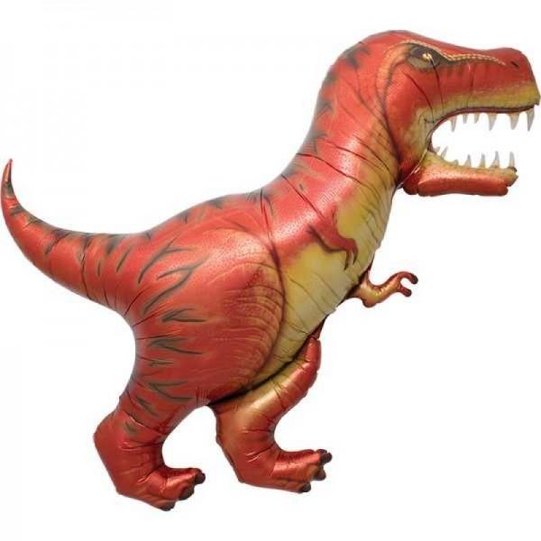 Dinosaur Balloons - Northstar 47 Inch T-Rex Supershape Foil Balloon