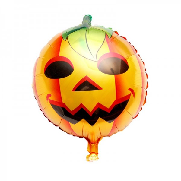 Halloween Balloons - Mytex 18 Inch Halloween Pumpkin Balloon ~ 2pcs