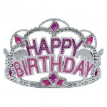 Mytex Princess Happy Birthday Gems Wording Tiara