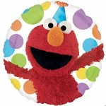 Anagram 18 Inch Elmo Happy Birthday Multicolor