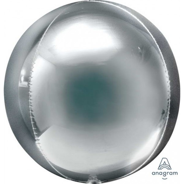 ORBZ Foil - Anagram 21 Inch Jumbo Orbz Silver
