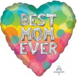 Anagram 18 Inch Best Mom Ever Letters Balloon