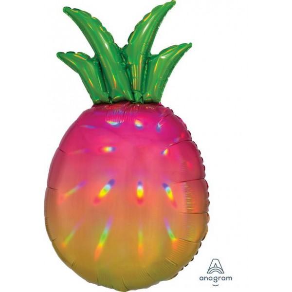 Decorator & Themed - Anagram 17 Inch Iridescent Pineapple