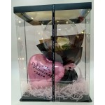 Valentine's Day - Creative Design Balloons With Led In Gift Box