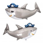 SuperShape 38 Inch Pirate Shark Foil Balloon