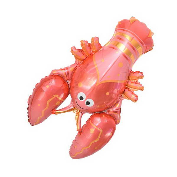 Decorator & Themed - Supershape 38 Inch Lobster Seafood Decoration Foil Balloon