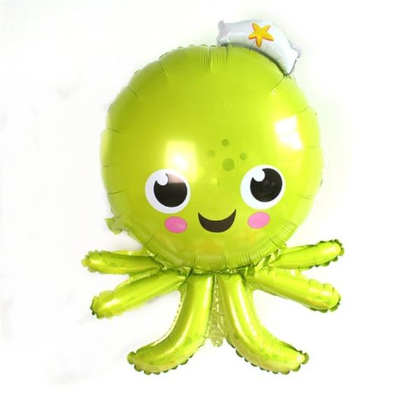 Animals Balloons - SuperShape 35 Inch Sea World Octopus Foil Balloon