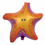 Supershape 26 Inch Under The Sea Starfish Foil Balloon