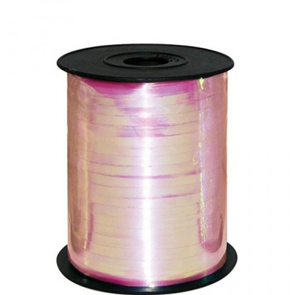 Ribbons - Curling Metallic Pink Balloon Ribbon ~ 5mm x 500y