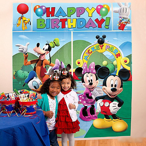 Mickey Mouse Scene Setter From Category Decoration Item
