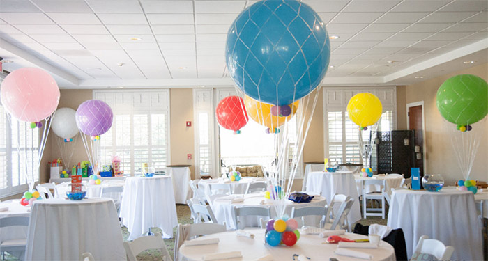 Quot inch balloon net for decoration ft from category