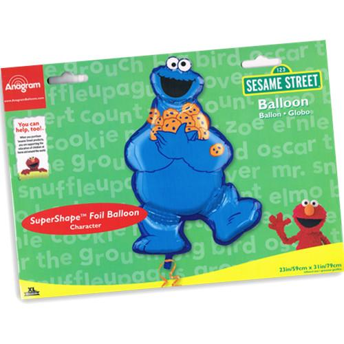 Anagram 23 X 31 Inch Sesame Street Cookie Monster